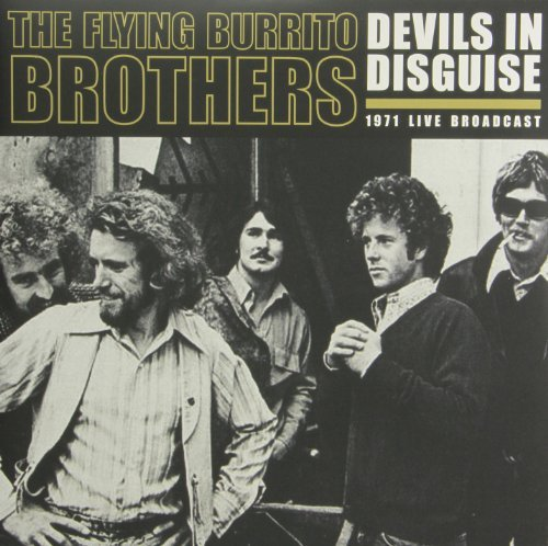 Flying Burrito Brothers Devils In Disguise 2 Lp