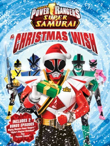 Christmas List Power Rangers Ws Nr