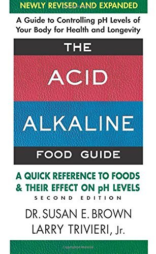 Susan E. Brown The Acid Alkaline Food Guide Second Edition A Quick Reference To Foods & Their Efffect On Ph 0002 Edition;newly Revised A