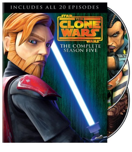 Star Wars The Clone Wars Season 5 DVD Nr