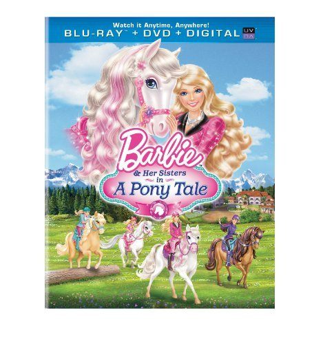 Barbie & Her Sisters In A Pony Barbie & Her Sisters In A Pony Blu Ray Ws Nr DVD Dc Uv