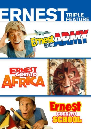 Ernest In The Army Ernest Goes Ernest Triple Feature Ws Pg