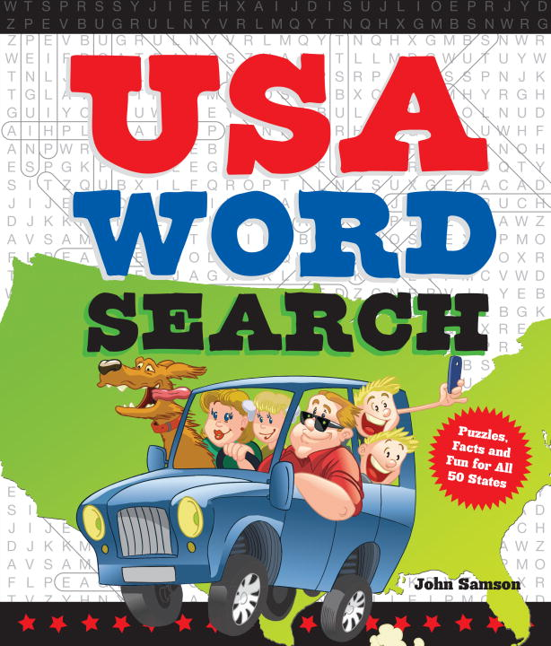 John Samson Usa Word Search Puzzles Facts And Fun For 50 States