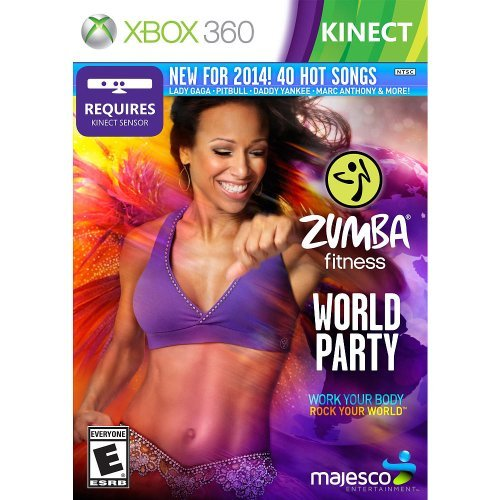 Xbox 360 Zumba Fitness World Party Majesco Sales Inc.