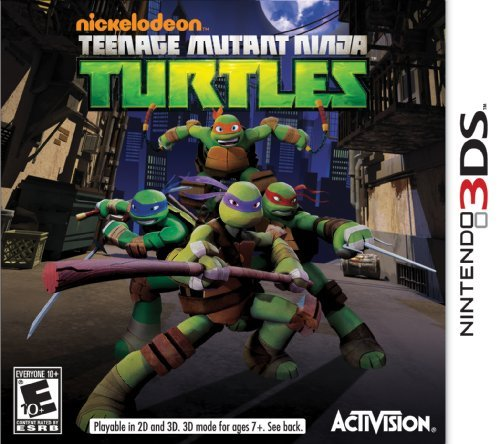 Nintendo 3ds Teenage Mutant Ninja Turtles Activision Inc. E10+
