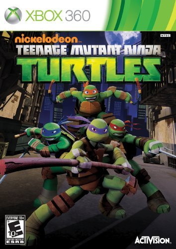 Xbox 360 Teenage Mutant Ninja Turtles Activision Inc.
