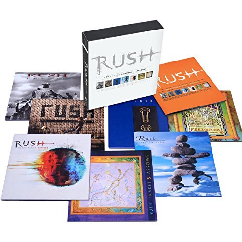 Rush Studio Albums 1989 2007 7 CD
