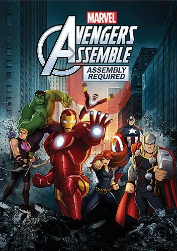 Avengers Assemble Assembly Required DVD Tvy7