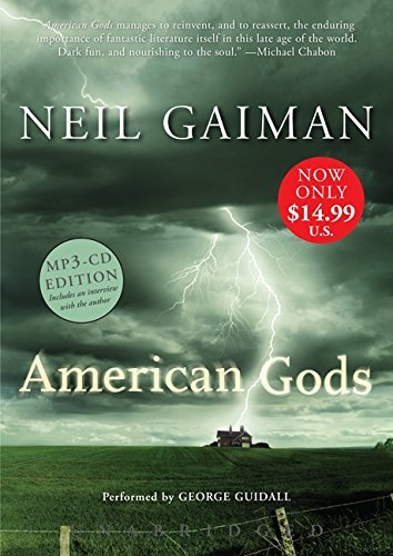 Neil Gaiman American Gods Mp3 CD