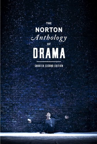 J. Ellen Gainor The Norton Anthology Of Drama 0002 Edition;shorter Second