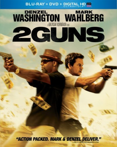 2 Guns Washington Wahlberg Blu Ray Ws R DVD Dc Uv