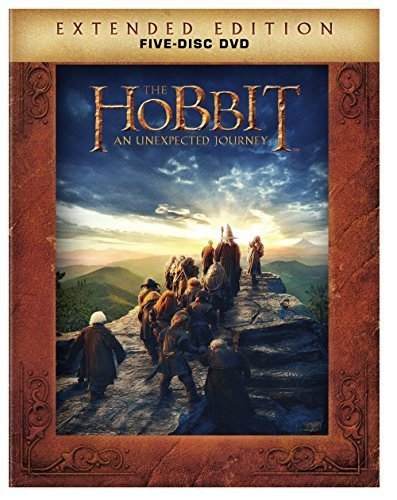 Hobbit An Unexpected Journey Mckellen Freeman Armitage Extended Ed. Pg13 5 DVD Uv