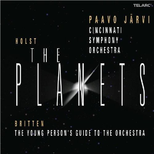 Paavo & Cincinnati Symph Jarvi Holst The Planets Jarvi Cincinnati So