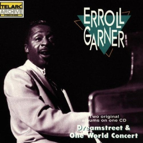 Erroll Garner Dreamstreet One World Concert CD R 2 On 1