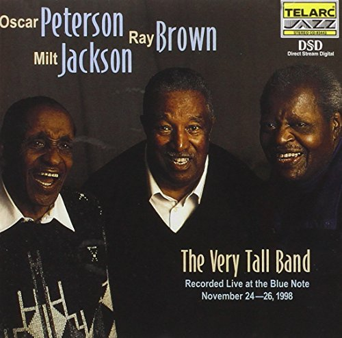 Peterson Brown Jackson Very Tall Band Live At The Blu