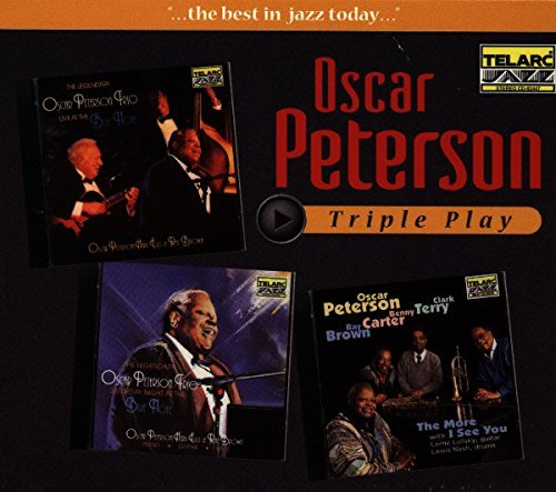 Oscar Peterson Triple Play 3 CD Triple Play Series