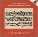 Bach Inventions & Sinfonias For Org Baumgratz*wolfgang (org)