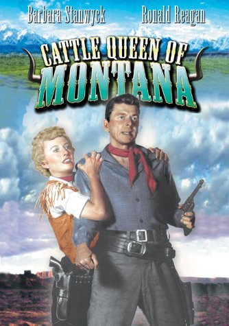 Cattle Queen Of Montana Stanwyck Evans Nr