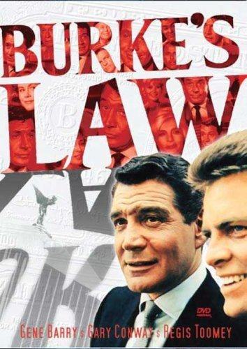 Burkes Law Season 1 Volume 1 DVD