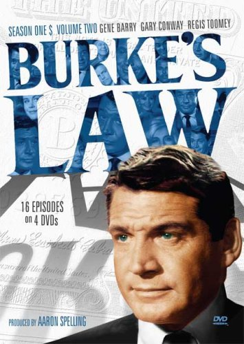 Burkes Law Burke's Law Season One Volume G 4 DVD
