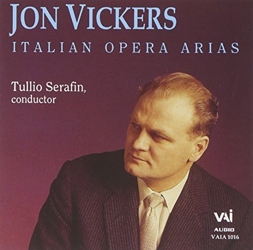 Jon Vickers Italian Opera Arias Vickers (ten)