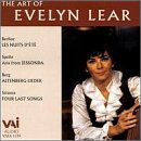 Evelyn Lear Art Of Evelyn Lear Lear (sop) Boulez
