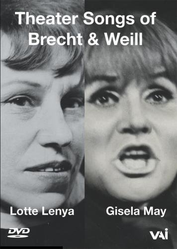 Lenya May Theater Songs Of Brecht & Weil