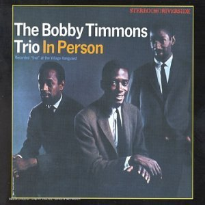 Bobby Timmons Trio In Person Import Aus CD Album