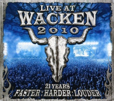 Wacken 2010 Live At Wacken Ope Wacken 2010 Live At Wacken Ope Import Gbr 2 CD