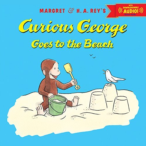 Margret Rey Curious George Goes To The Beach