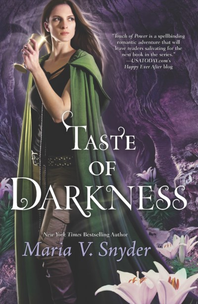 Maria V. Snyder Taste Of Darkness