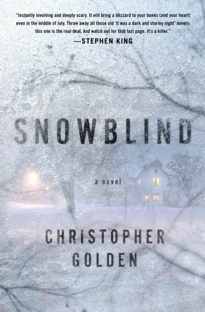 Christopher Golden Snowblind
