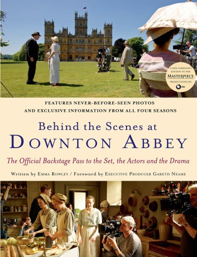 Emma Rowley Behind The Scenes At Downton Abbey