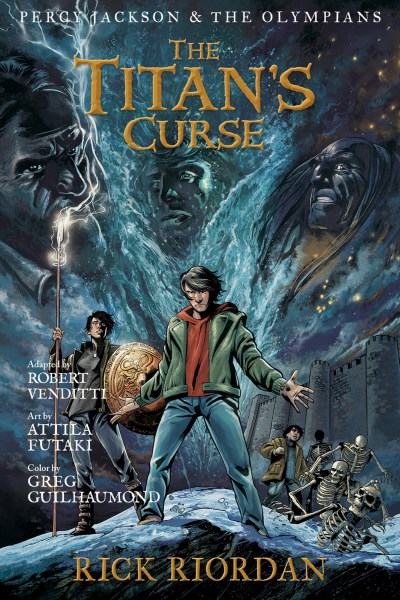 Rick Riordan The Titan's Curse The Graphic Novel