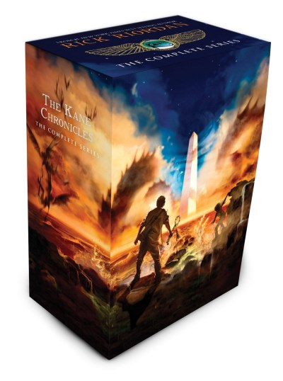 Rick Riordan The Kane Chronicles The Complete Series