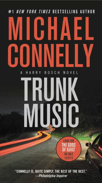 Michael Connelly Trunk Music