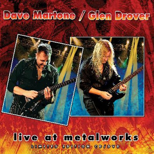 Dave Martone & Glen Dr Martone Live At Metalworks 2 CD