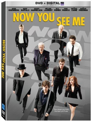 Now You See Me Eisenberg Ruffalo Harrelson DVD Uv Pg13