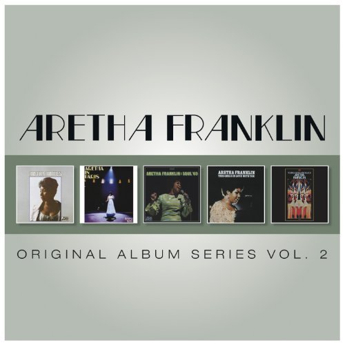 Aretha Franklin Vol. 2 Original Album Series Import Eu