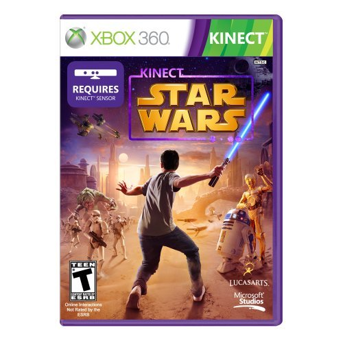 Xbox 360 Star Wars Kinect Disney Interactive Distri T