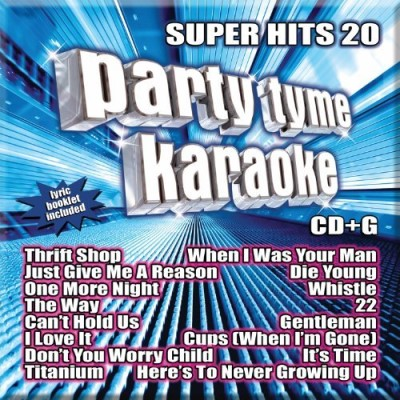 Party Tyme Karaoke Super Hits 20 Cd+g