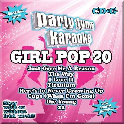 Party Tyme Karaoke Girl Pop 20 Cd+g