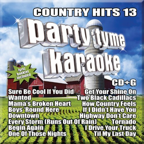 Party Tyme Karaoke Country Hits 13 Cd+g