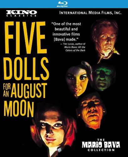 5 Dolls For An August Moon 5 Dolls For An August Moon Blu Ray Ws Nr Remastered