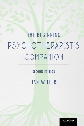 Jan Willer The Beginning Psychotherapist's Companion Second Edition 0002 Edition;