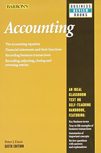 Peter J. Eisen Accounting 0006 Edition;