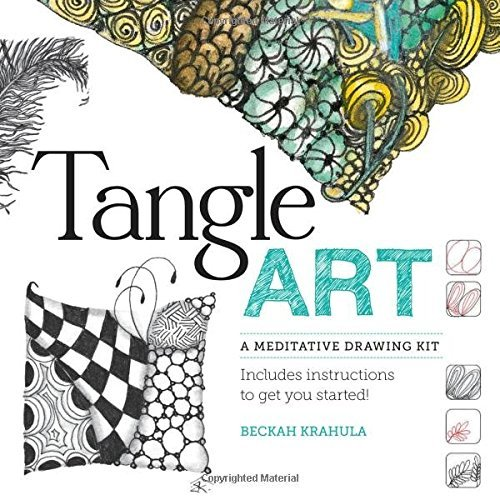 Beckah Krahula Tangle Art A Meditative Drawing Kit