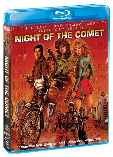 Night Of The Comet Collector's Edition Blu Ray DVD Pg13 Ws