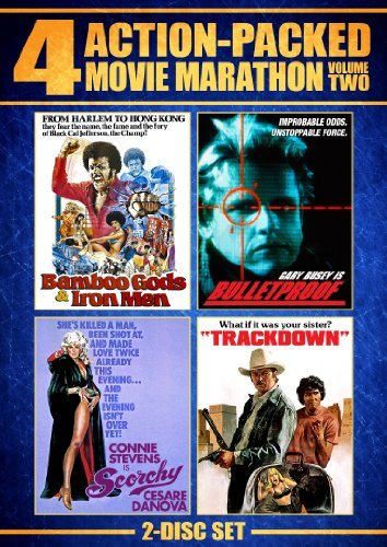 Bulletproof Trackdown Bamboo G Action Packed Movie Marathon 2 Nr