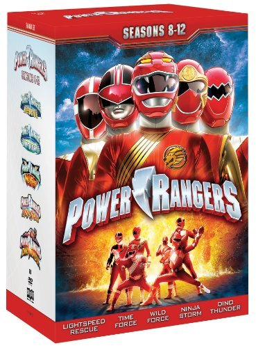 Power Rangers Seasons 8 12 Ff Nr